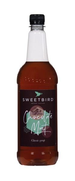 Syrop Sweetbird Czekoladowo-Miętowy