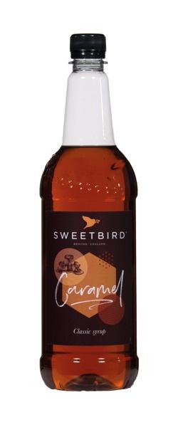 Syrop Sweetbird Karmel