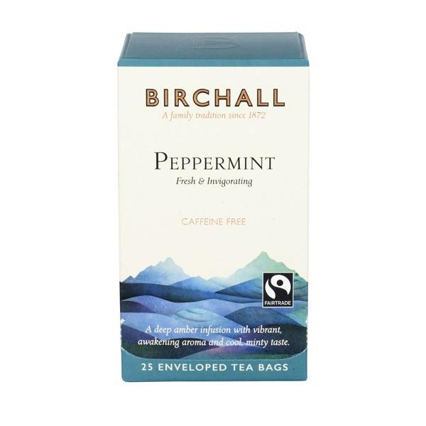 Herbata Birchall Peppermint - ziołowa, 25 kopert