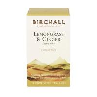 Herbata Birchall Lemongrass & Ginger - ziołowa, 25 kopert